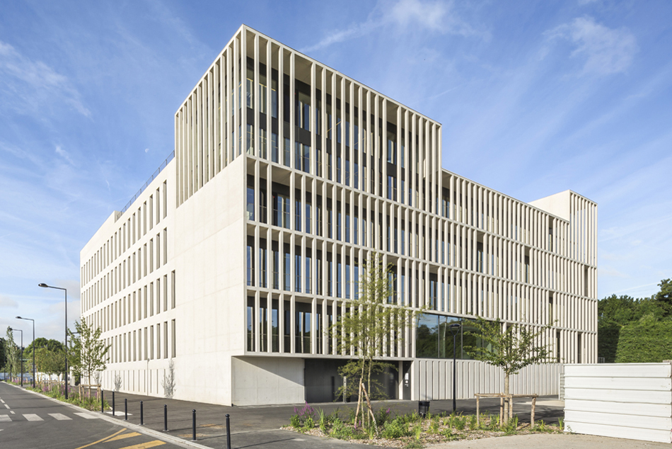 The IDF Habitat Headquarters in Champigny-sur-Marne is now completed
