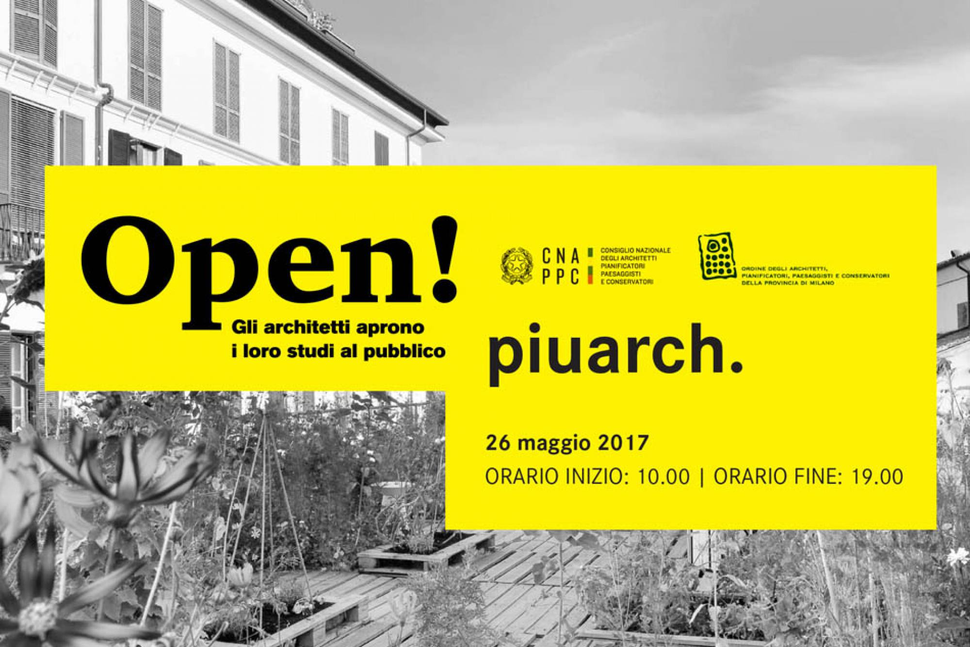 "Piuarch joins the program ""Open studio"""